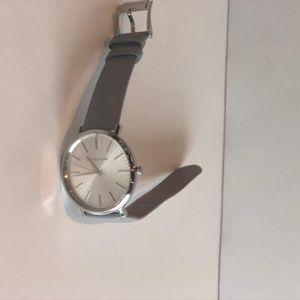 Michael Kors Accessories - Silver Michael Kors Women Watch